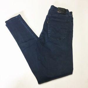 Levi's Mile High Dark Wash Skinny Jeans size 29